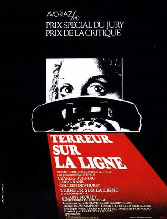 TERREUR SUR LA LIGNE (1979)   WHEN A STRANGER CALLS (1979)   1979