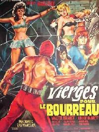 VIERGES POUR LE BOURREAU | IL BOIA SCARLATTO / THE BLOODY PIT OF HORROR | 1965