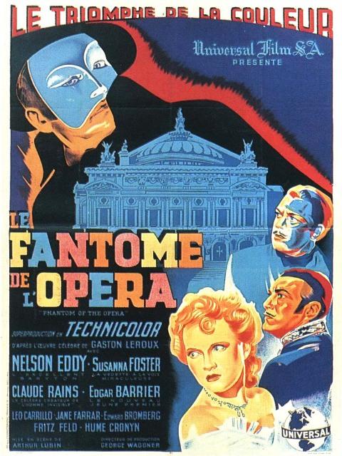 FANTôME DE L'OPéRA (1943) - LE | PHANTOM OF THE OPERA | 1943