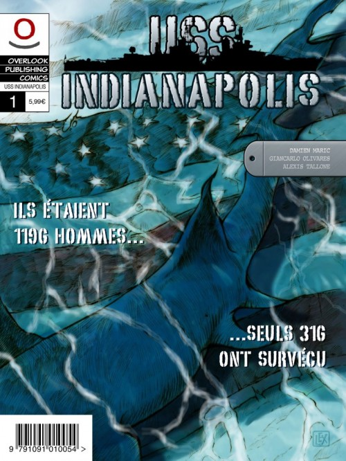 USS INDIANAPOLIS T1   USS INDIANAPOLIS T1   2012