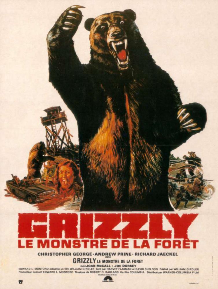GRIZZLY LE MONSTRE DE LA FORET | GRIZZLY | 1976