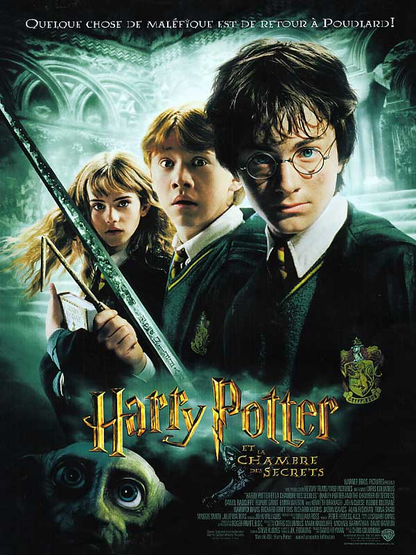 HARRY POTTER ET LA CHAMBRE DES SECRETS   HARRY POTTER AND THE CHAMBER OF SECRETS   2002