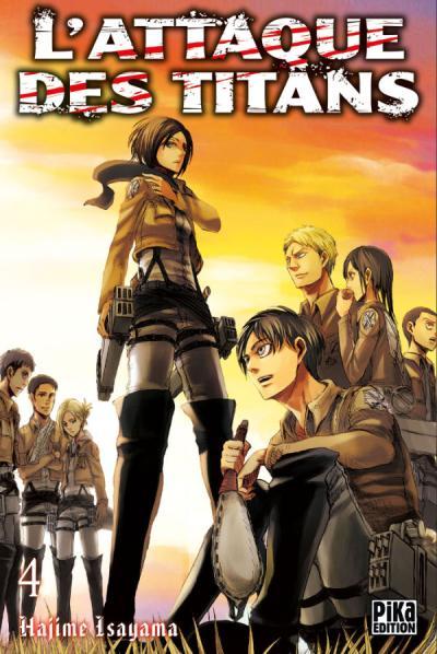Attaque des titans tome 4 - l' | Shingeki no Kyojin tome 4 | 2011