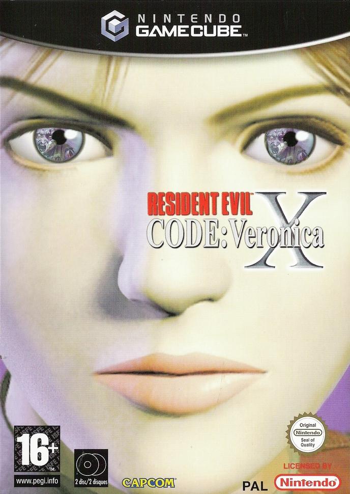 RESIDENT EVIL CODE : VERONICA X | BIOHAZARD CODE : VERONICA | 2000