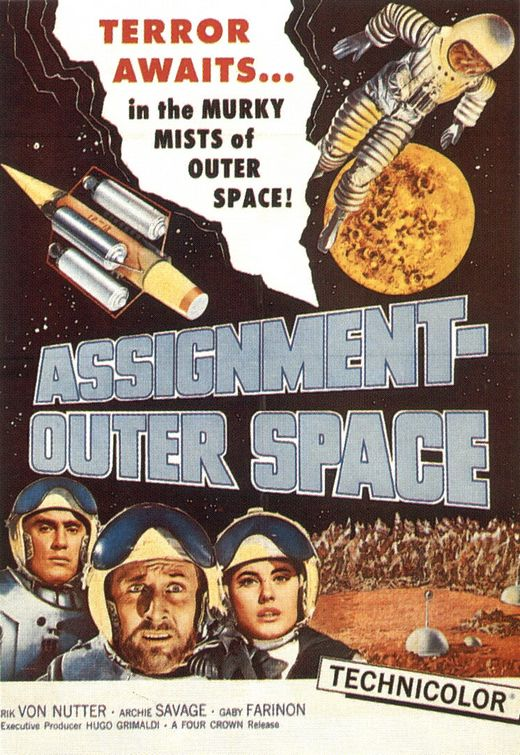 ASSIGNMENT : OUTER SPACE   SPACE MEN   1960