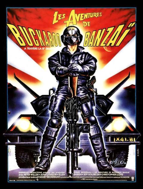 AVENTURES DE BUCKAROO BANZAI - LES | THE ADVENTURES OF BUCKAROO BANZAI ACROSS THE 8TH DIMENSION | 1984