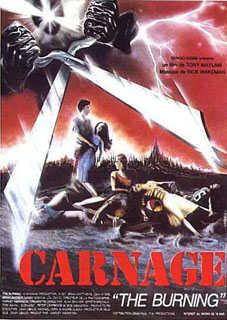 CARNAGE | THE BURNING | 1981