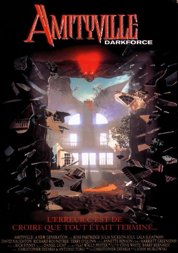AMITYVILLE 7 : DARKFORCE | AMITYVILLE : A NEW GENERATION | 1993