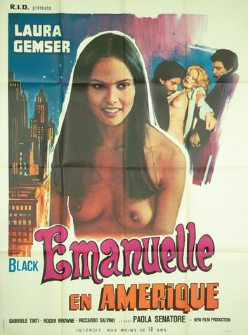 BLACK EMANUELLE EN AMERIQUE   EMANUELLE IN AMERICA   1977