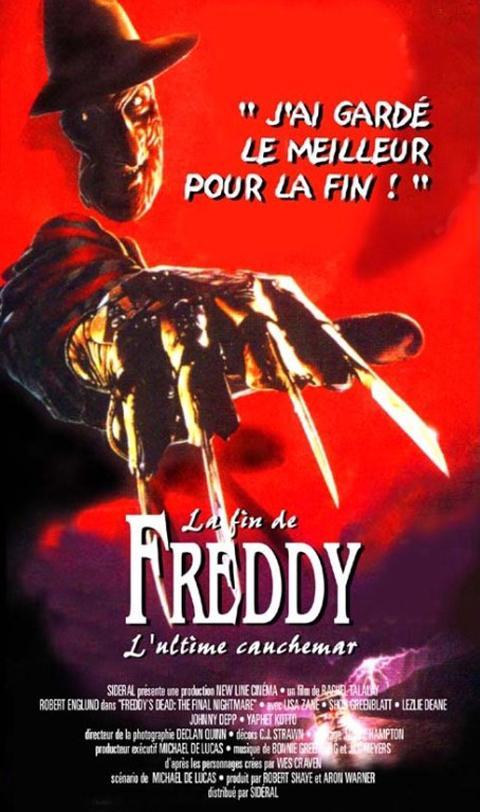 FIN DE FREDDY - LA   A NIGHTMARE ON ELM STREET - FREDDY'S DEAD   1991