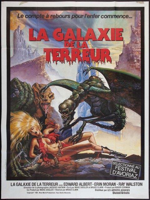 GALAXIE DE LA TERREUR - LA | GALAXY OF TERROR | 1981