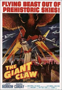GIANT CLAW - THE   THE GIANT CLAW   1957