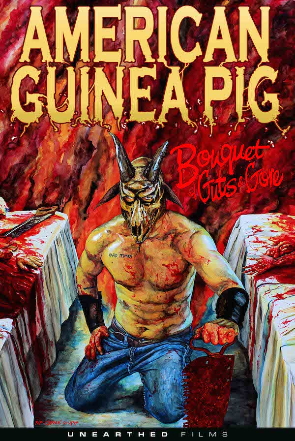 AMERICAN GUINEA PIG   AMERICAN GUINEA PIG : BOUQUETS OF GUTS AND GORE   2014