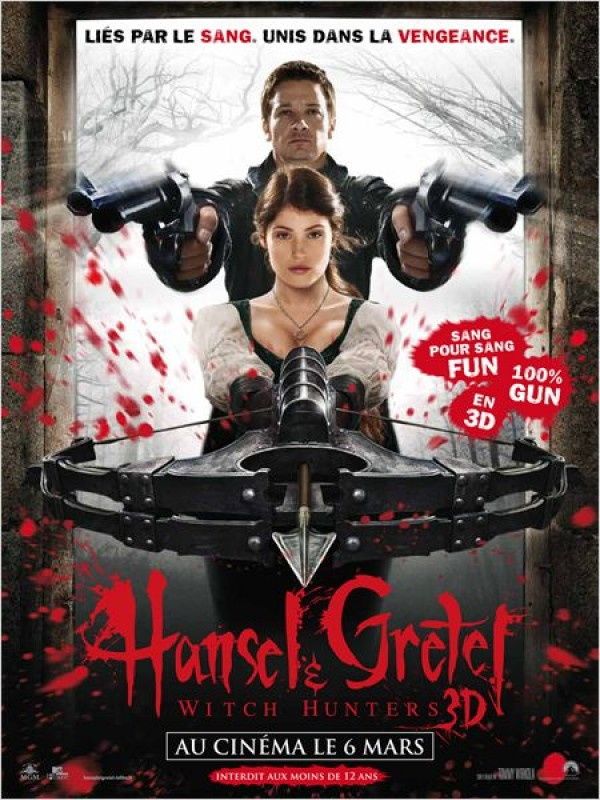 HANSEL ET GRETEL : WITCH HUNTERS   HANSEL AND GRETEL: WITCH HUNTERS   2013