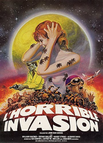 HORRIBLE INVASION - L   KINGDOM OF THE SPIDERS   1977