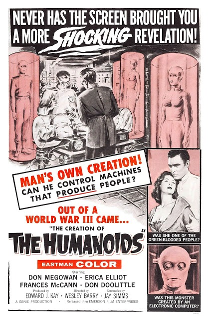 CREATION OF THE HUMANOIDS - THE | THE CREATION OF THE HUMANOIDS | 1962