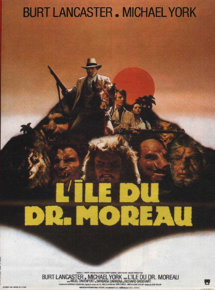 ILE DU DR. MOREAU - L (1977)   THE ISLAND OF DR. MOREAU (1977)   1977