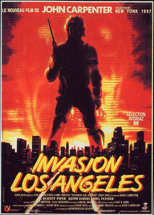 INVASION LOS ANGELES   THEY LIVE   1988