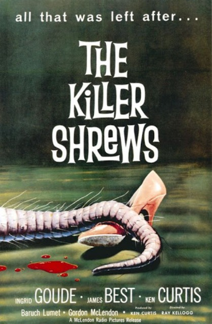 MUSARAIGNES TUEUSES - LES | KILLER SHREWS - THE | 1959