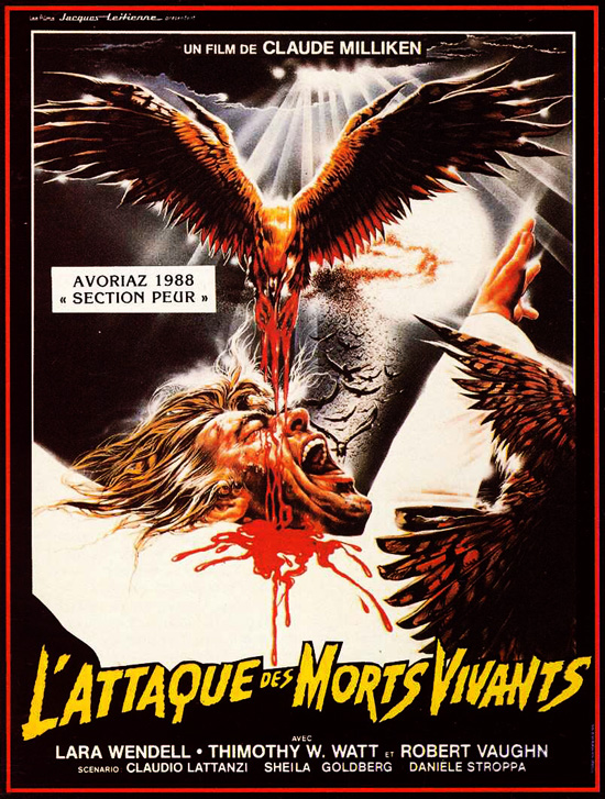 ATTAQUE DES MORTS VIVANTS - L' | KILLING BIRDS: RAPTORS | 1987
