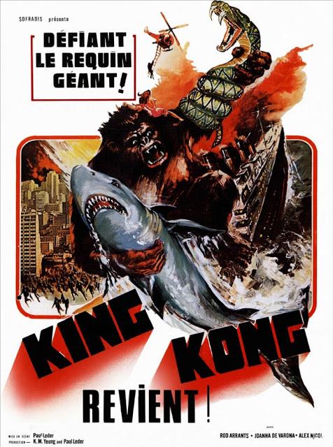 KING KONG REVIENT   A*P*E   1976