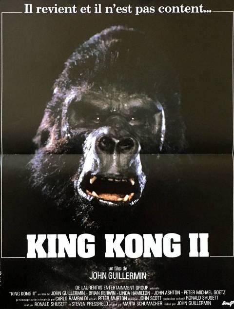 KING KONG 2 | KING KONG LIVES | 1986