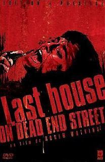 LAST HOUSE ON DEAD END STREET - THE   LAST HOUSE ON DEAD END STREET - THE   1973