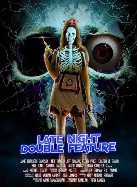 LATE NIGHT DOUBLE FEATURE   LATE NIGHT DOUBLE FEATURE   2016