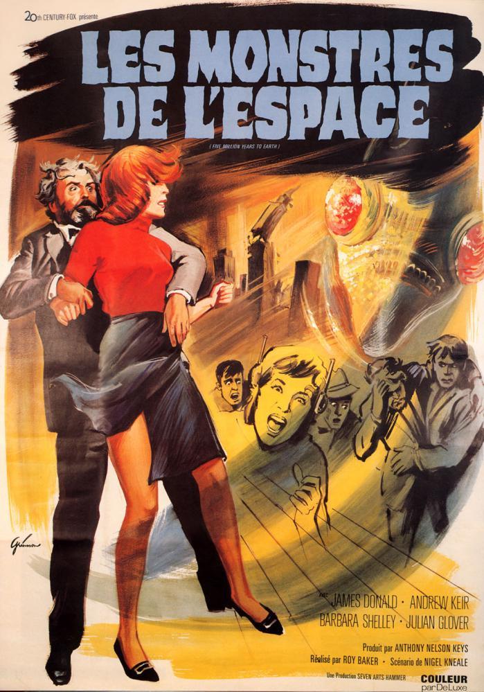 MONSTRES DE L'ESPACE - LES | QUATERMASS AND THE PIT | 1967