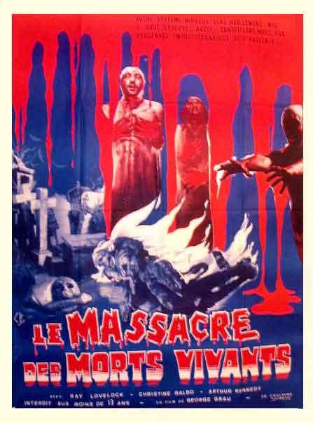 MASSACRE DES MORTS VIVANTS - LE | LIVING DEAD AT MANCHESTER MORGUE / LET SLEEPING CORPSE LIE | 1974