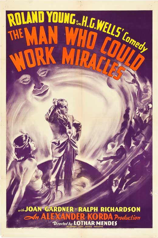 HOMME QUI POUVAIT ACCOMPLIR DES MIRACLES - L | THE MAN WHO COULD WORK MIRACLES | 1936
