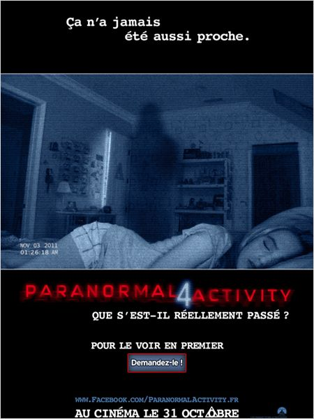 PARANORMAL ACTIVITY 4 | PARANORMAL ACTIVITY 4 | 2012