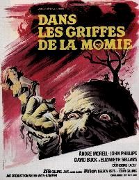 DANS LES GRIFFES DE LA MOMIE | THE MUMMY'S SHROUD | 1967