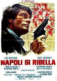 CALIBRE MAGNUM POUR L INSPECTEUR   NAPOLI SI RIBELLA   1977