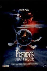 FREDDY 5 - L ENFANT DU CAUCHEMAR   A NIGHTMARE ON ELM STREET  5 - THE DREAM CHILD   1989