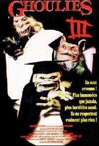 GHOULIES 3   GHOULIES 3 : GHOULIES GO TO COLLEGE   1991