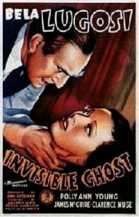 INVISIBLE GHOST | THE INVISIBLE GHOST | 1941