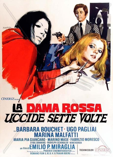 DAME ROUGE TUA 7 FOIS - LA | LA DAMA ROSSA UCCIDE SETTE VOLTE | 1972