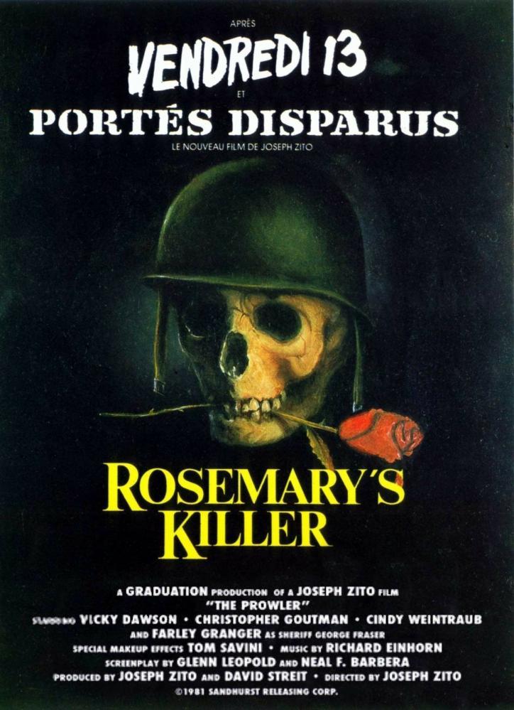 ROSEMARY S KILLER | THE PROWLER | 1981