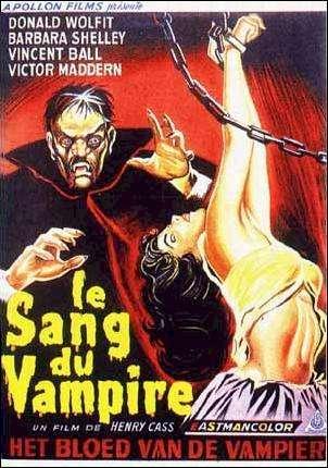 SANG DU VAMPIRE - LE | BLOOD OF THE VAMPIRE | 1958