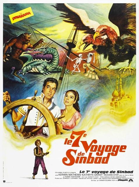 SEPTIEME VOYAGE DE SINBAD - LE   7TH VOYAGE OF SINBAD - THE   1958