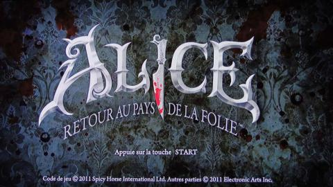 ALICE : RETOUR AU PAYS DE LA FOLIE | ALICE : MADNESS RETURNS | 2011