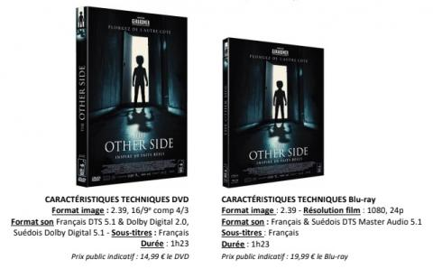 Sortie DVD / BR : The other side