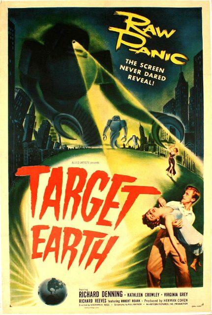 OBJECTIF TERRE | TARGET EARTH | 1954