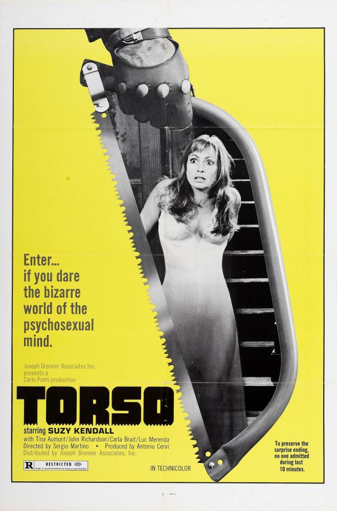 TORSO | I CORPI PRESENTANO TRACCE DI VIOLENZA CARNALE  | 1973